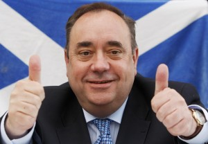 Scotland's First Minister, Alex Salmond