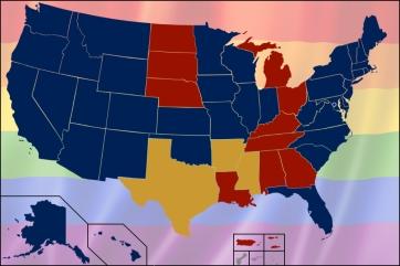 Rainbow Flag 37 States
